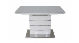 Стол обеденный (трансформер) MARS (120-160) (белый)