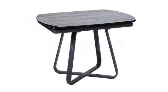 Стол обеденный (трансформер) SATURN (серый)